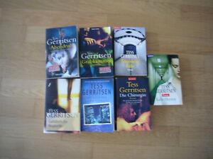 Tess Gerritsen 8 Bücher