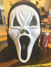 Scream Scary Horror Halloween Mask Ghost Black Veil