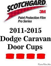 3M Scotchgard Paint Protection Film Pro Series Kit 2011 2015 Dodge Grand Caravan