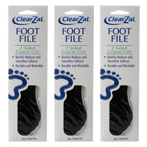 ClearZal Foot File (3 PACK)
