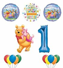 Winnie the Pooh, Piglet and Friends 1st Birthday Party Supplies