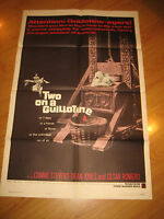 Two on a Guillotine Orig, 1sh Movie Poster '65 7 days in a house of terror