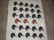 28 NEW Herters Model 72 Drake Bluebill Red Head and Canvasback Duck Decoy Heads