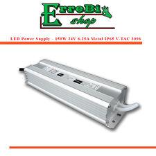 Power Pack Transformers 24V 150W Metal Ip65 For Led Stripe V-Tac 3096 Vt-22150