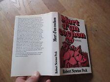 ROBERT NEWTON PECK mort d un cochon 1974 + jaquette ed ex libris lausanne
