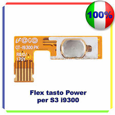 Power Button On Off Switch Flex Cable per Samsung Galaxy S3 III i9300 i9305