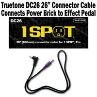 """1-SPOT 26"""" Power Connector Cable Guitar Pedal Adapter DC26 Truetone Visual Sound"""