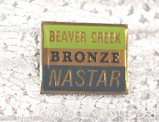 BEAVER CREEK - Ski Pin Badge Skiing - NASTAR BRONZE - Colorado CO Mountains MTN