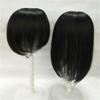 Clip in 100% Remy Human Hair Women Top Topper Piece Hairpiece Lace Wig Toupee