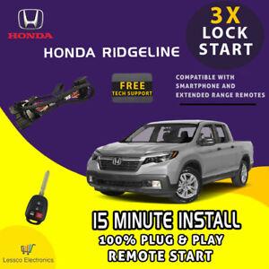 100% Plug & Play Remote Start fits: 2017-2021 Honda Ridgeline w/ Push To Start