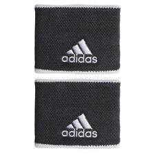 adidas Tennis Wristbands S Sports Badminton Sweatband Gray 2 Pcs Fk0910