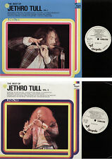 2 LP JETHRO TULL BEST OF VOL 1 + 2 LINEATRE PROMO WHITE LABEL MADE IN ITALY