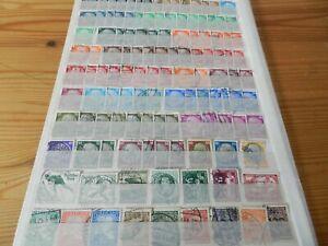 Briefmarken Deutsches Reich, Gestempelt