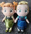 Disney Store Animators Collection Frozen Plush Anna and Elsa Authentic preloved