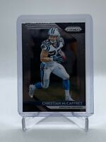 CHRISTIAN McCAFFREY 2018 Panini Prizm #172 2nd Year Card Carolina Panthers
