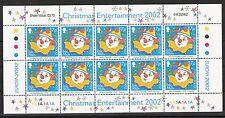 CEPT, Europa 2002 Insel Man, Mi 1026 im Kleinbogen postfrisch, KW 12,00€