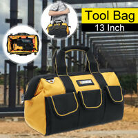 "13"" Tool Bag Holdall Heavy Duty Carry Storage Tool Organizer With Shoulde"