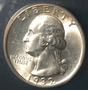 First Year Of Issue 1932 Washington Quarter ANACS MS 64