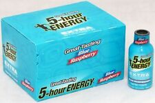 5 Hour Energy EXTRA Strength Blue Raspberry - Case 12 BOTTLES - 1.93oz Shot Fast