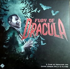 Fury of Dracula Third Edition Board Game, FFG, OOP, New in Shrink free shipping