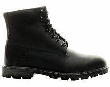 "{10069} Men's Timberland 6"" Classic Basic WaterProof Leather Boots Black *NEW!*"