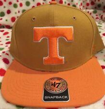 best service c85ed c9cdc New ListingUniversity Of Tennessee Volunteers 47 Brand Orange Snapback Hat  Cap New NWT