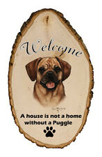 Outdoor Welcome Sign (Tb) - Fawn Puggle 51123
