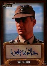 INDIANA JONES HERITAGE AUTOGRAPH OR SKETCH CARDS    ...SELECT /CHOOSE