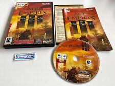 Age Of Empires III (3) The Asian Dynasties - Macintosh / Mac - FR - Avec Notice
