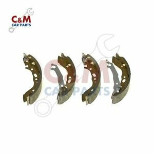 Brake Shoes Set for HYUNDAI PONY from 1989 to 1995 - QH