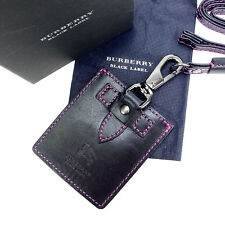 Burberry Ipod case Black Pink Woman Authentic Used Y247