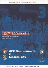 2003 DIVISION 3 PLAY OFF FINAL - BOURNEMOUTH v LINCOLN CITY