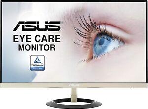 "ASUS VZ249Q 24"" Ultra-Slim Design Flicker Free Full HD LED Monitor- Black /Gold"