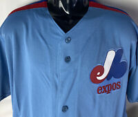Montreal Expos Majestic Jersey NEW Tim Raines #30 Cool Base Sewn Cooperstown XLT