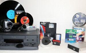Hi8 / Video8 / Digital8 überspielen auf DVD - 4x Bänder -  digitalisieren