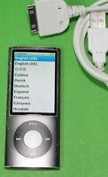 Apple iPod Nano MP3-Player (5. Generation) 8 GB Schwarz A1320