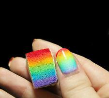 8pcs Nail Art Stamp Stamping Polish Template Transfer Sponge Manicure DIY Tool