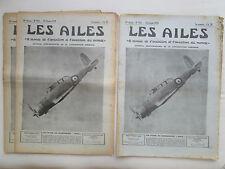 AILES 1939 923 SKUA CAUDRON CYCLONE SABENA PLANCHE DE BORD PLANEUR MODELISME