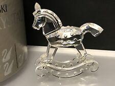 Swarovski Figur Schaukelpferd 6,8 cm mit Ovp + Zertifikat, Top Zustand !!