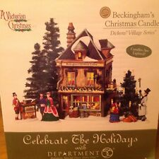 Department 56 Beckingham's Christmas Candles Dickens Village Series NIB