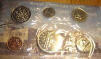1976 Canada PL RCM Set (6 Coins UNC.)