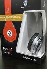Nouvelle base Booster dynamique Casque Stéréo MP3 MP4 Mobile PC Pliable Noir
