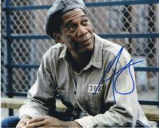 Morgan Freeman The Shawshank Redemption autographed 8x10 photograph RP
