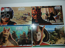 PROMO Star Wars Episode 1 The Phantom Menace Lays Pepsi Set of 4 Posters * NEW *