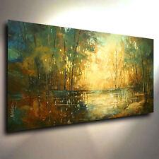 Landscape Palette Knife Art  Giclee canvas print PAINTING  DECOR Michael Lang