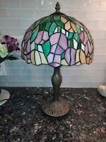 Tiffany Style Table Lamp Stained Glass Tulip
