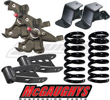 McGaughys Chevy Tahoe 4/4 Lowering Kit 1995 - 2000 2WD Suburban Spindles Coils