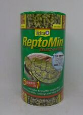 TetraFauna ReptoMin Select A Food For Aquatic Turtles Newts Frogs 1.55 Oz 3 In 1