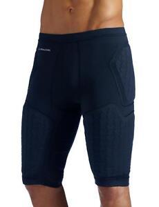 NWT Adidas Techfit CLIMACOOL Men's 5-Pad Padded Compression Shorts - Navy