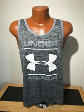 Mens Under Armour Loose Heat Gear Fitted Sleeveless Tank Top Shirt Small S
